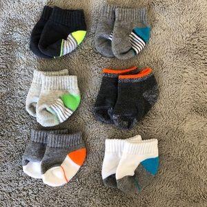 Other - 6 pk baby boy socks